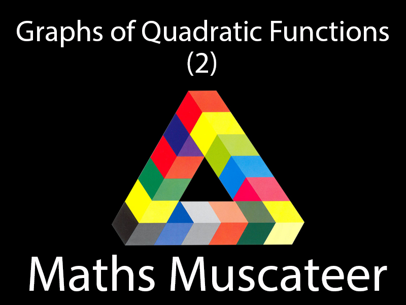Graphs of Quadratic Functions (2)