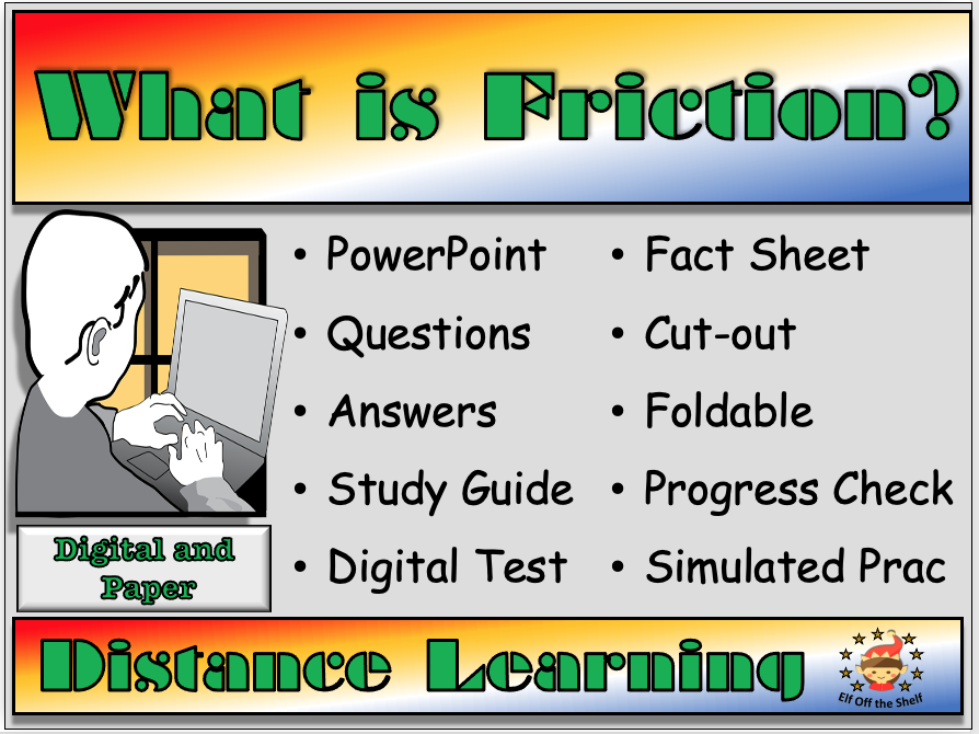 Forces - What is Friction?- Distance Learning and Homeschool for KS3