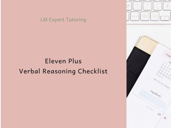 Eleven Plus Coverage Checklist