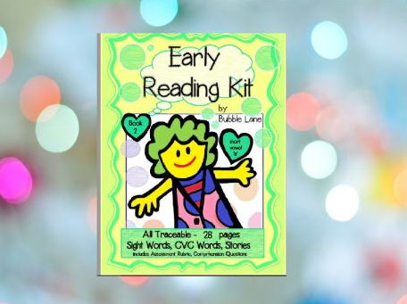 Book 2 - Sight Word Take Home Program for Emergent Readers