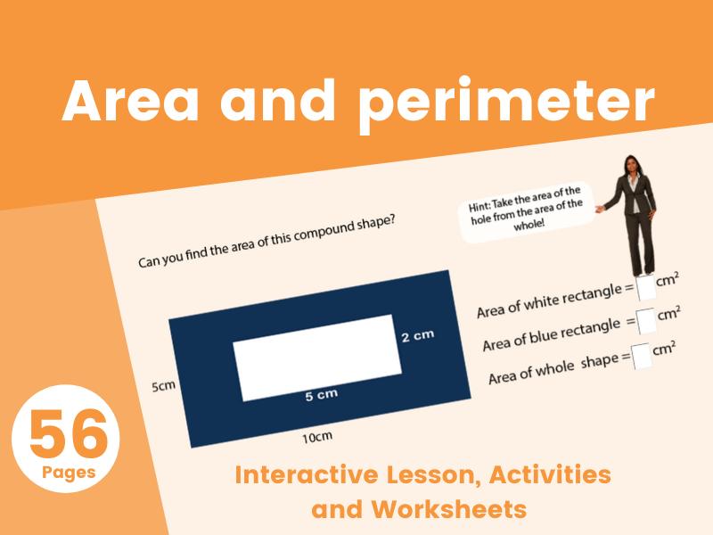 Area and Perimeter, 6th Grade - 8th Grade