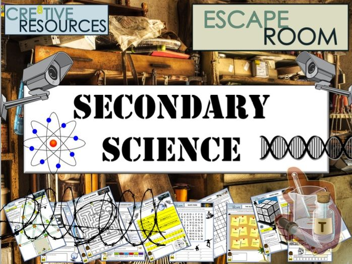 Science Escape Room - End of Year