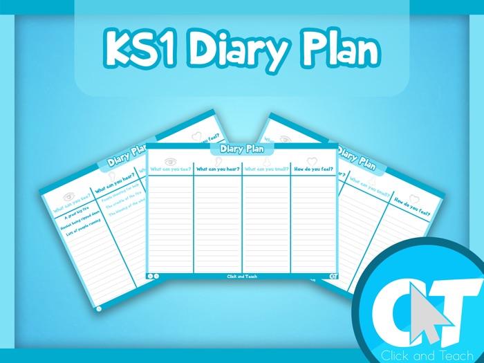 KS1 - Diary Plan