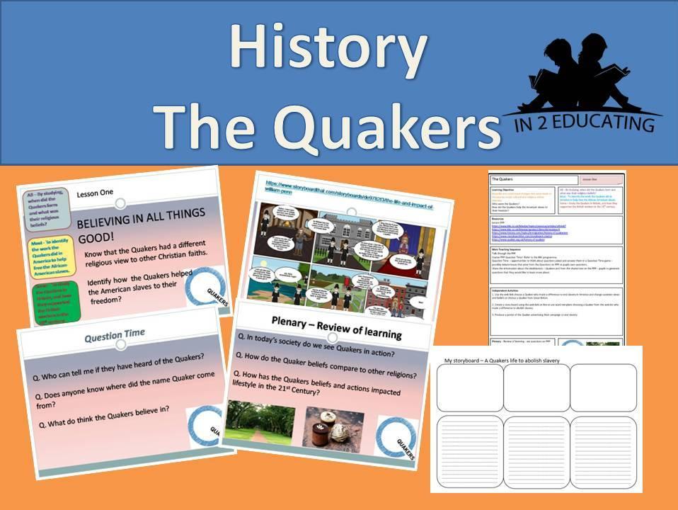 Ks 3 The Quakers