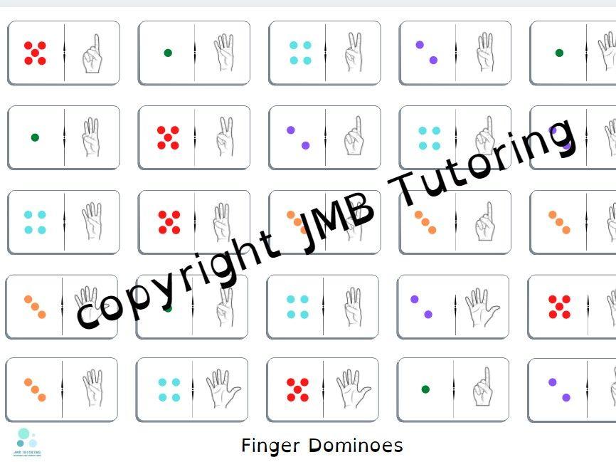 Finger dominoes