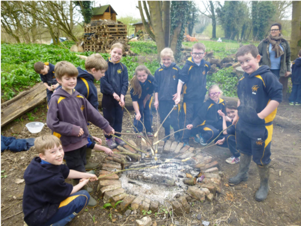 Year 5 - Properties and Changes of Materials - outdoor learning