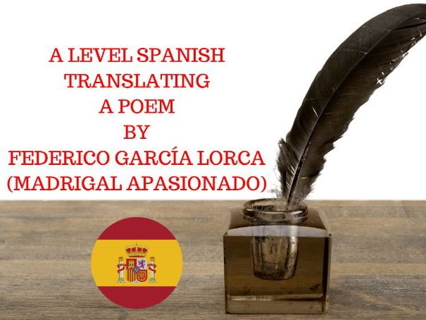 Translating a Poem by García Lorca