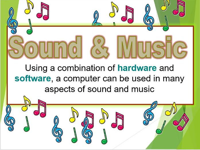 ICT Display (Music and Sound)