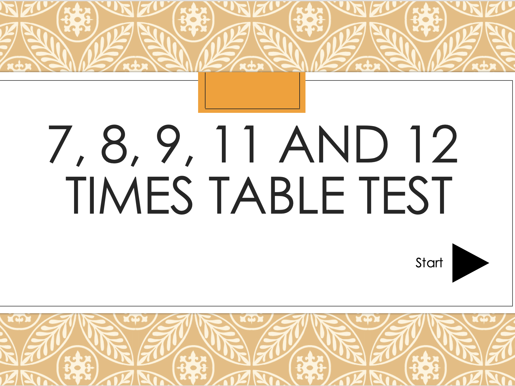 Huge Times table Activity and Test Bundle