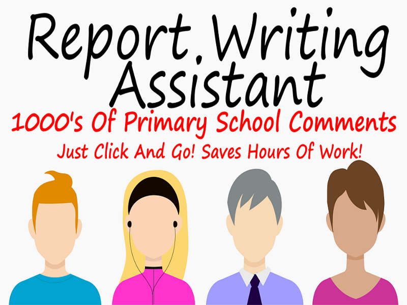 Thousands of Report Comments All Primary School+ Teacher Report Writing Assistant