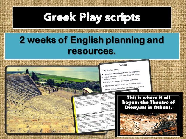 Ancient Olympics - Greek Playscripts