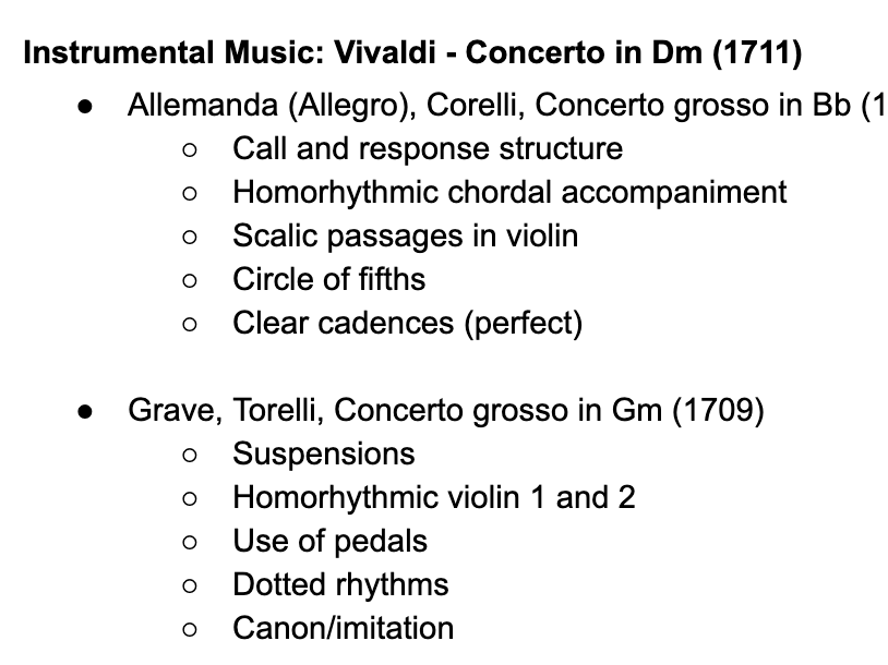 Edexcel A Level Music: Instrumental Further Works