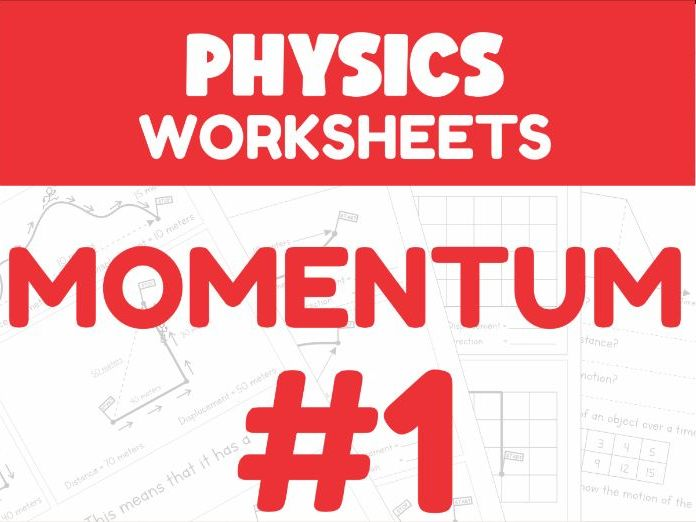 Momentum Worksheet #1 (Home Learning Support)