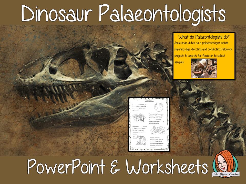 Dinosaur Palaeontology Lesson