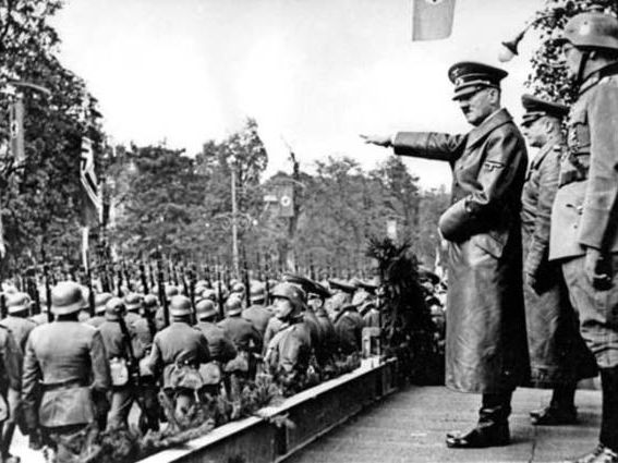 Hitler's Consolidation of power by 1934