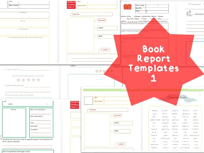 Book Report Templates1
