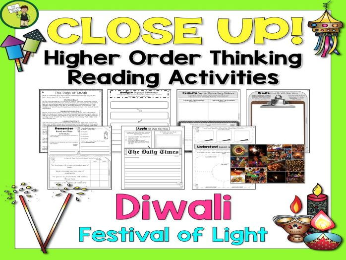 Diwali Festival of Lights Reading Comprehension Passages and Questions