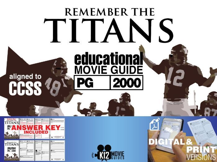 Remember the Titans Movie Guide | Questions | Worksheet (PG-2000)