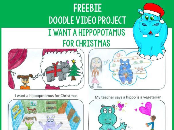 Doodle Video Project: Christmas Song