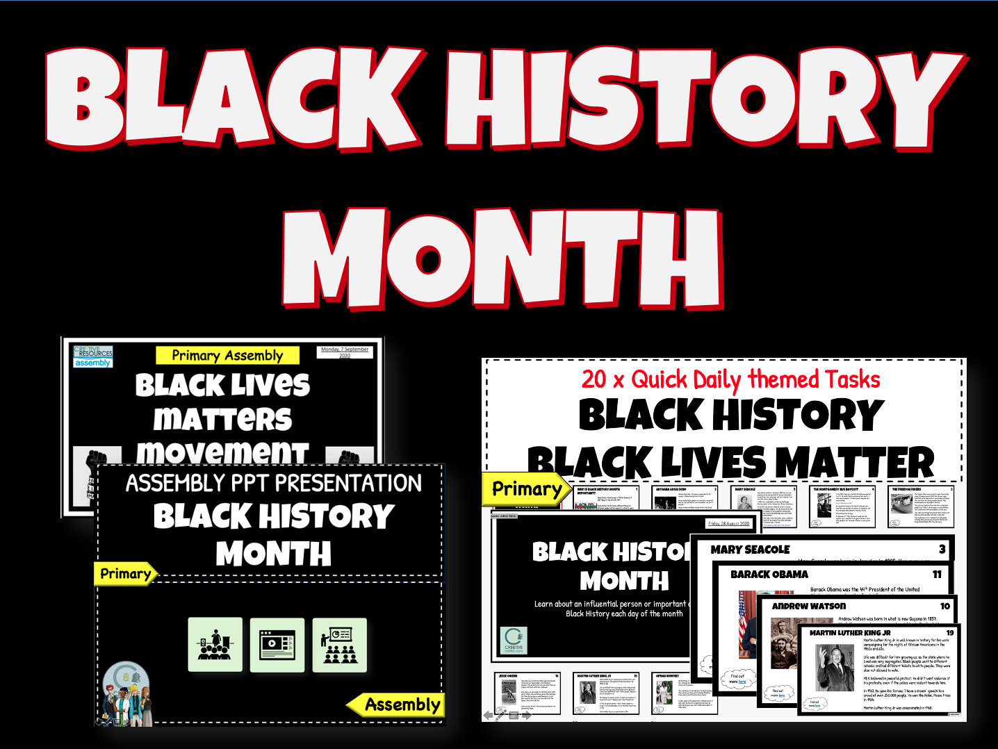 Black History Month BLM