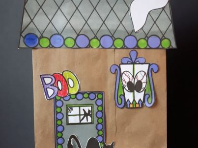 Create Your Own Paper Bag Haunted House