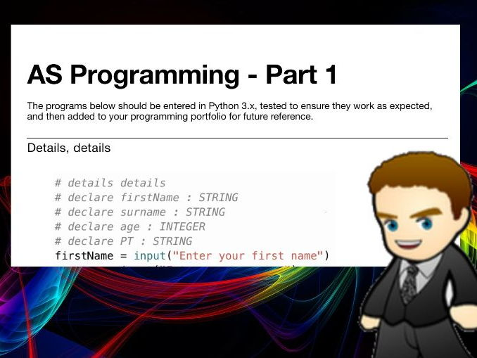 AS Programming Book 1 (Python 3.x)