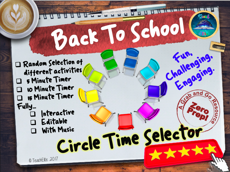 Back to School Circle Time
