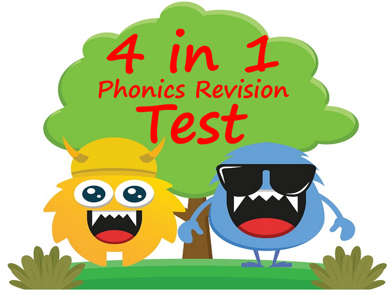 Phonics Screen Revision - 4 documents in one simple PowerPoint!