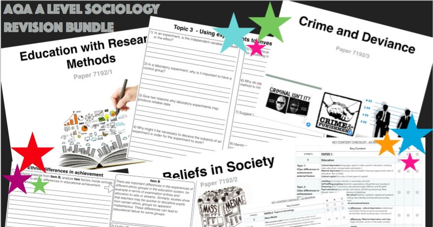 A Level Sociology Revision Work Books