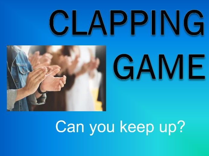 Common Phonics Words A-L - Clapping Game - Grades K-1 - PowerPoint
