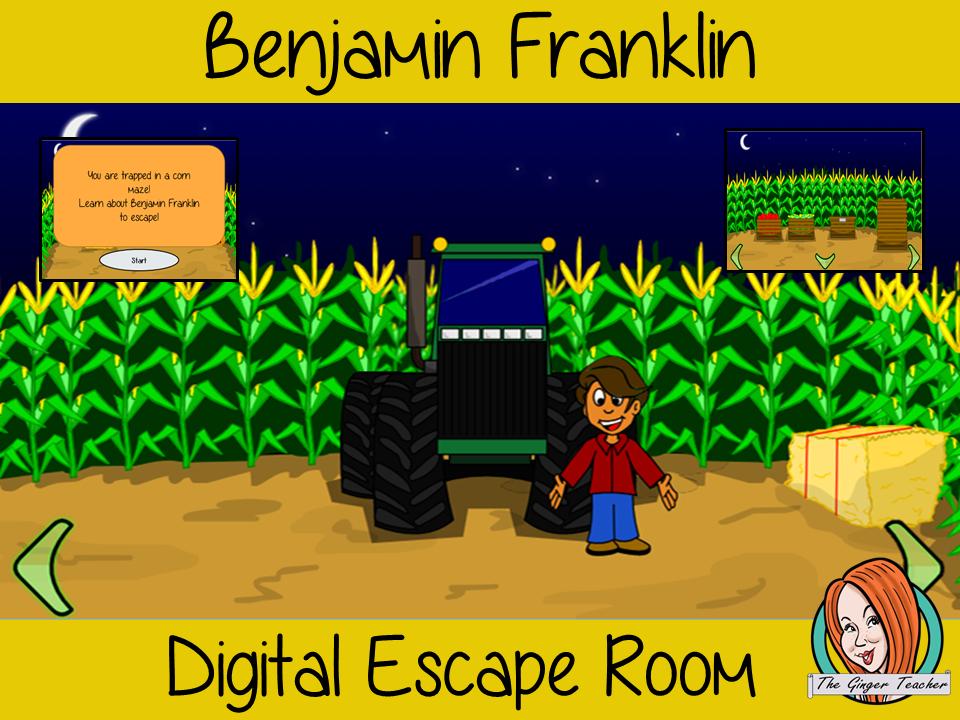 Benjamin Franklin Escape Room