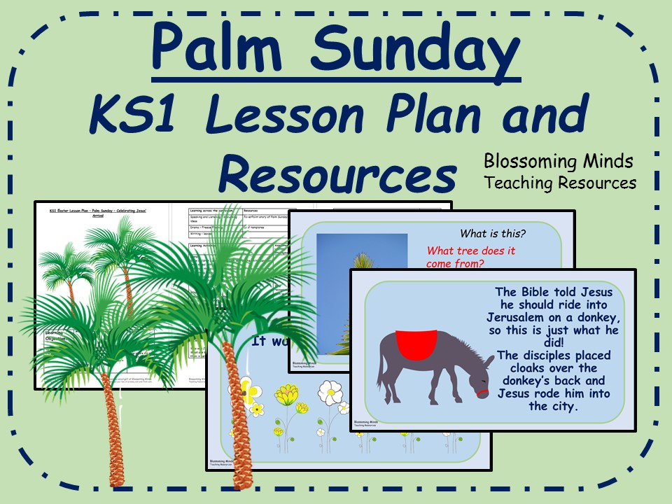 KS1 Easter RE Lesson Pack - Palm Sunday