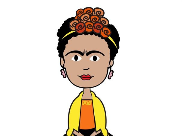 Spanish Biography of Frida Kahlo