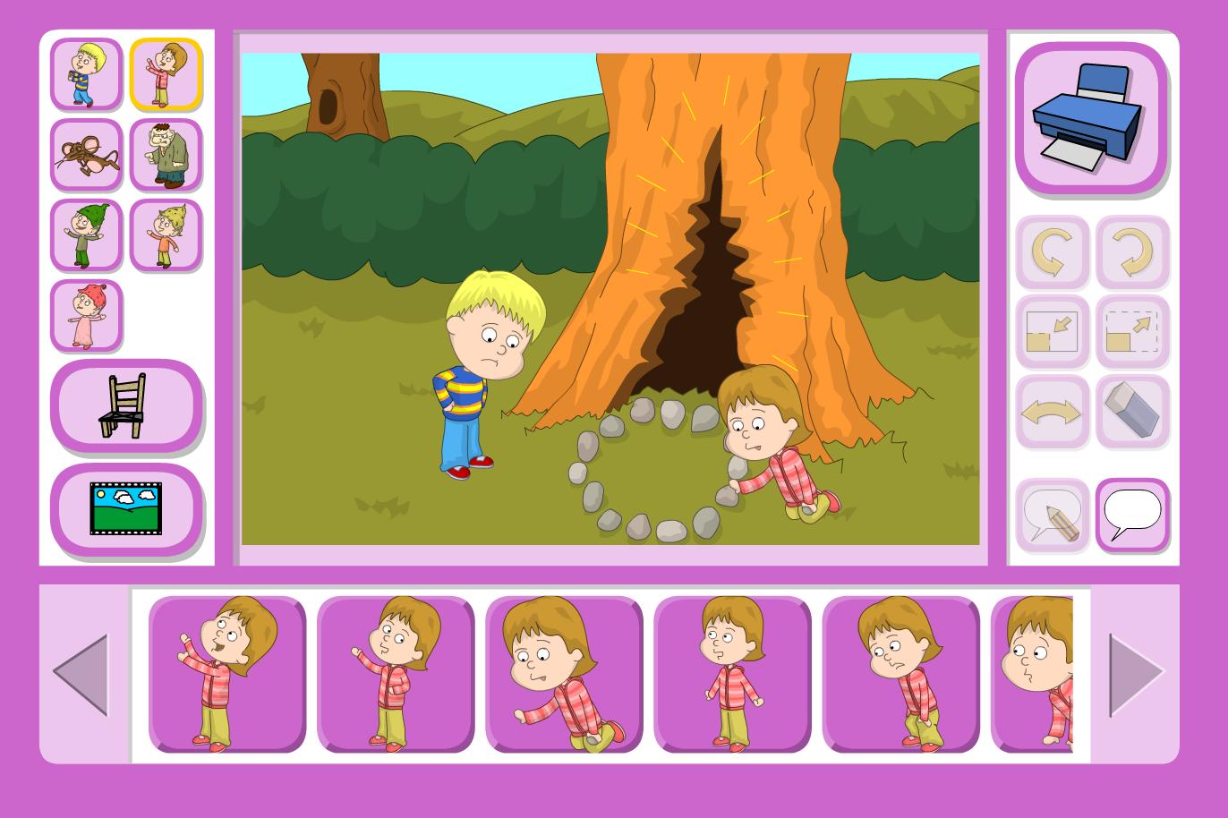 The Ogre's Birthday Scene Focus - Interactive Activity - KS1 Literacy