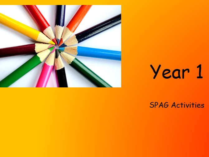 85 SPAG Activities Year 1