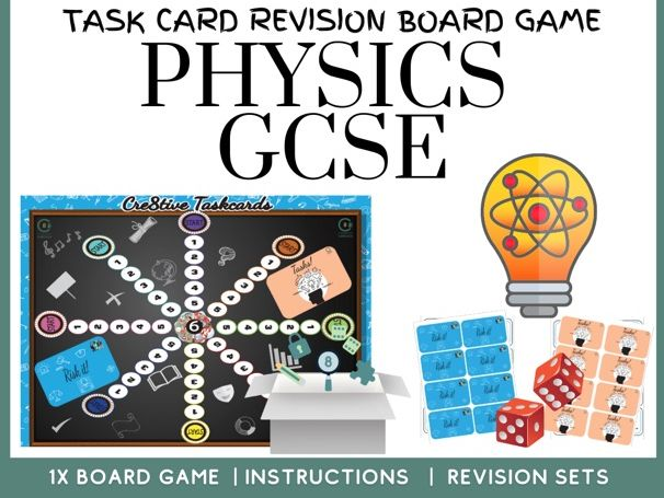 Physics GCSE Revision Board Game