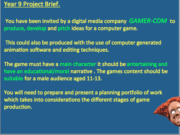 Media Game Sound Production Process-Great Lesson-(BTEC LVL 2Media Studies)