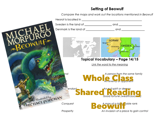 Whole Class Reading - Beowulf Michael Morpurgo