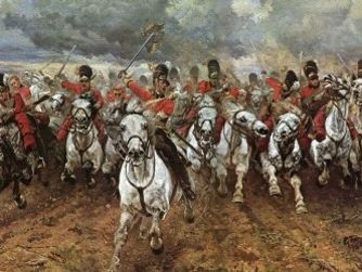 Comparing Poems - Bayonet Charge to Charge of the Light Brigade