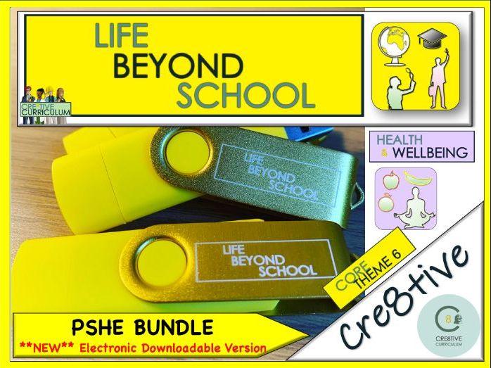 PSHE Life Skills + Careers Planning - Yellow Bundle