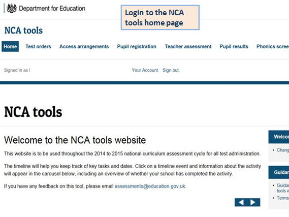 Instructions for secondary data managers on extracting maths QLA sats data from NCA tools