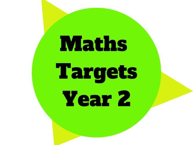 Year 2 - Maths Target Sheets
