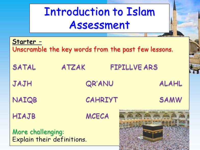 Islam Assessment