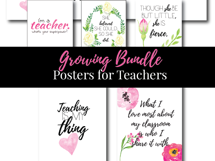 Posters, Teacher Art, Wall Art, Classroom Decor