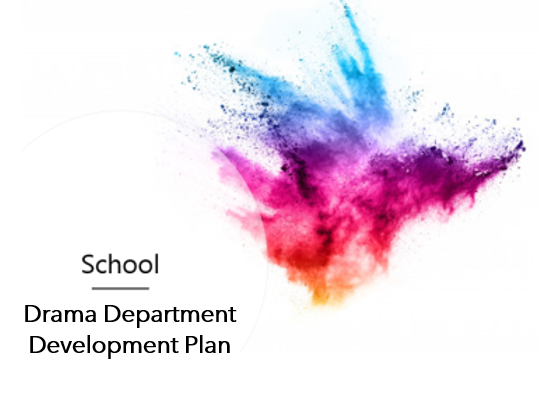 Drama Department Example 15 Year Development Plan (Research, Suggestions, Guide, Staff, Resources)