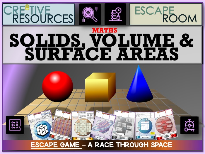 Solids Volume Surface Area - Maths