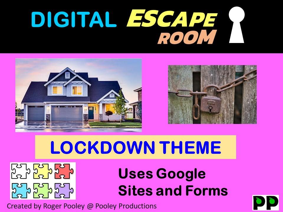 Digital Escape Room - Lockdown
