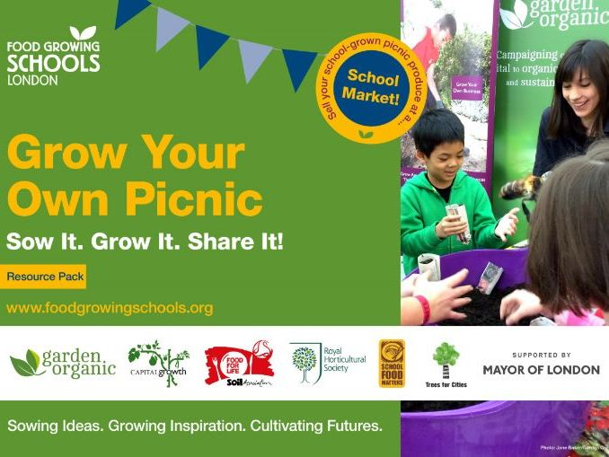 Food Growing Schools London - Grow Your Own Picnic Activity pack