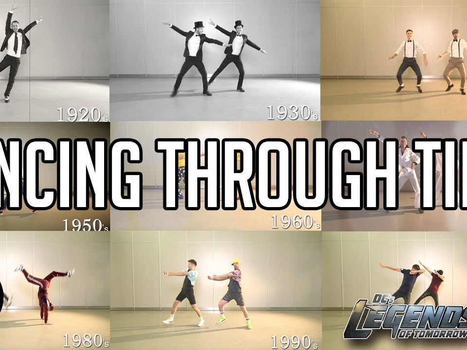 Dance through the Decades REMOTE LEARNING DANCE  BUNDLE CHARLESTON, DISCO, BREAKDANCE, TIK TOK
