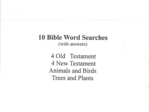 graphic regarding Printable Bible Crossword Puzzles With Scripture References named 100 Bible Term Glance Game Reserve